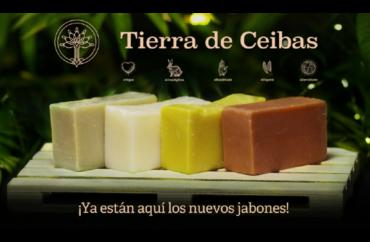 Nueva Gama de Jabones Naturales, Ecológicos y Veganos - Certificados - Tierra de Ceibas
